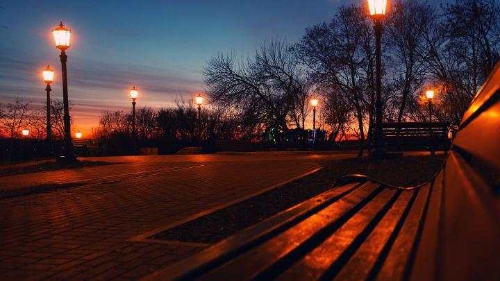Фонари на уфимских улицах будут работать с шести вечера и до восьми утра