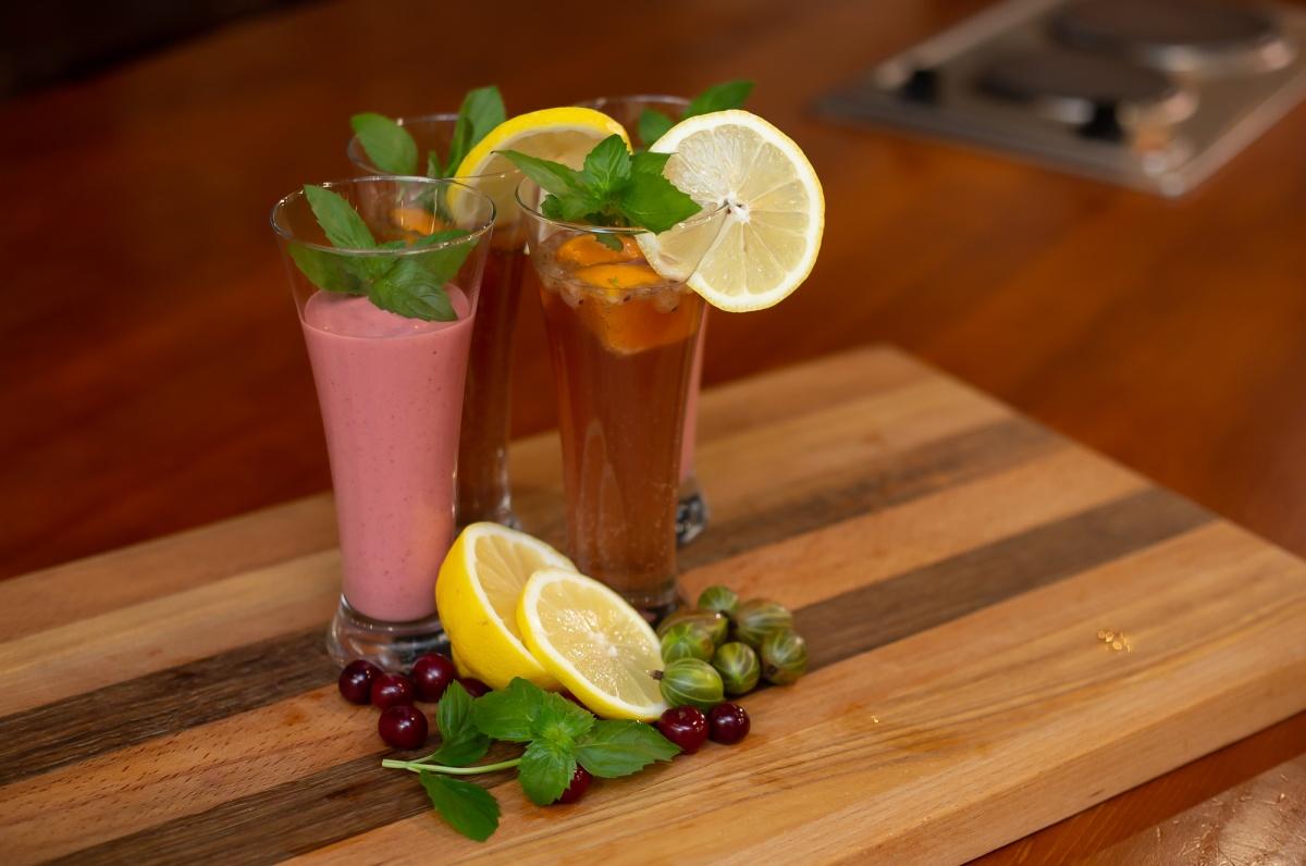 Летние напитки готовить легко и просто