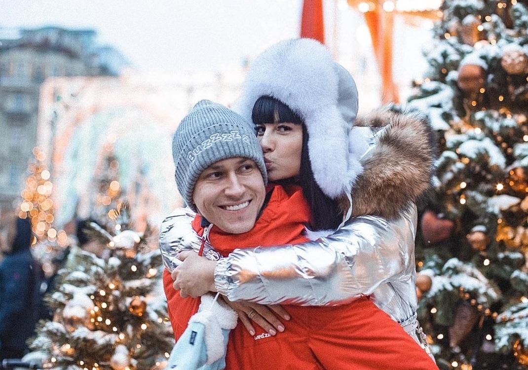 Нелли Ермолаева с супругом в Москве