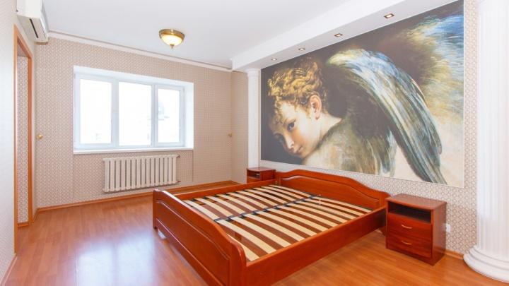 Фэншуй за 11,5 миллиона: в Новосибирске выставили на продажу квартиру с огромным амуром на стене