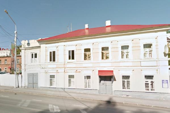 Здание — памятник архитектуры
