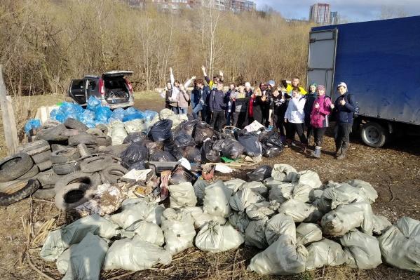 Половину собранных отходов отправят на переработку