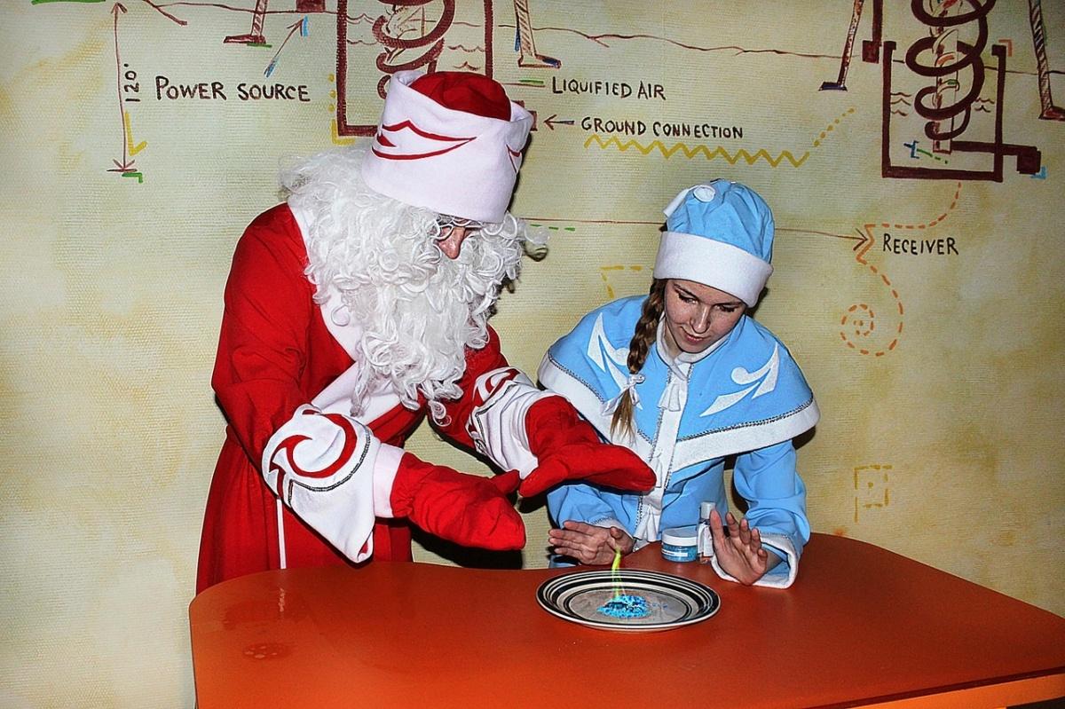 Нижегородцам предложили отпраздновать Новый год в компании научной Снегурочки и Деда Мороза