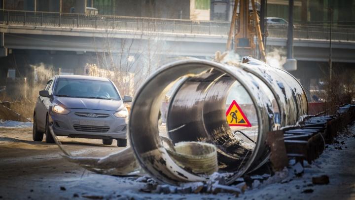 В Центральном районе Челябинска на 12 дней ограничат движение