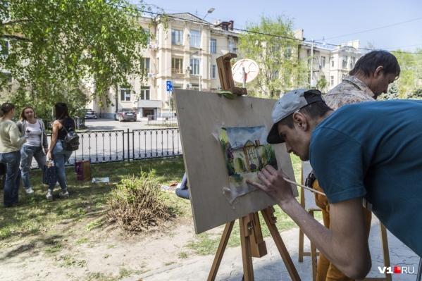 Художники собираются общаться и творить