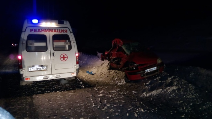 Водитель погибла в выехавшей на встречку «Хонде»