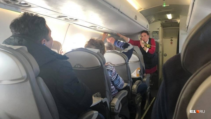 СК РФ заинтересовался ЧП на борту самолета, где едва не сварились «чайфы»