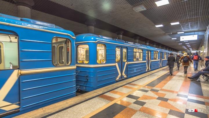 В приложение «Прибывалка-63» включили расписание работы самарского метро