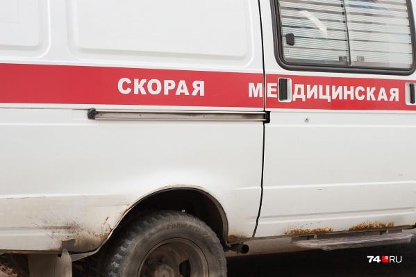 Скорая прибыла на место происшествия в считаные минуты и отвезла раненого в больницу