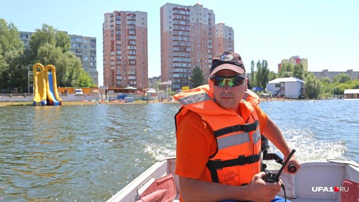 В Уфе на пляже Солнечном утонул 24-летний парень