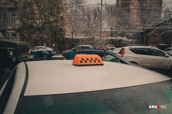 Некоторые службы такси перестали принимать заказы