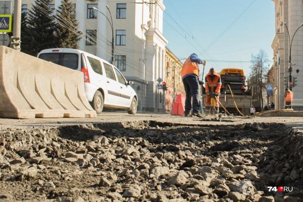 Цена контракта на ремонт дорог составляла 827,7 миллиона рублей