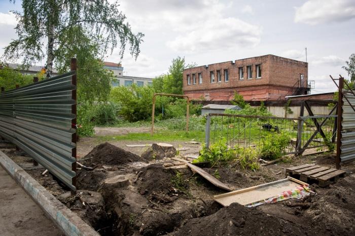 Стройка на ул. Костычева началась в конце мая