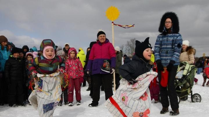 Проводили зиму всем районом: на Масленицу в Академическом собралось несколько тысяч человек