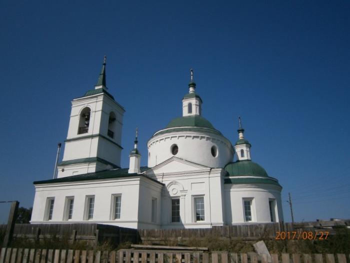 Церковь в Частоостровском