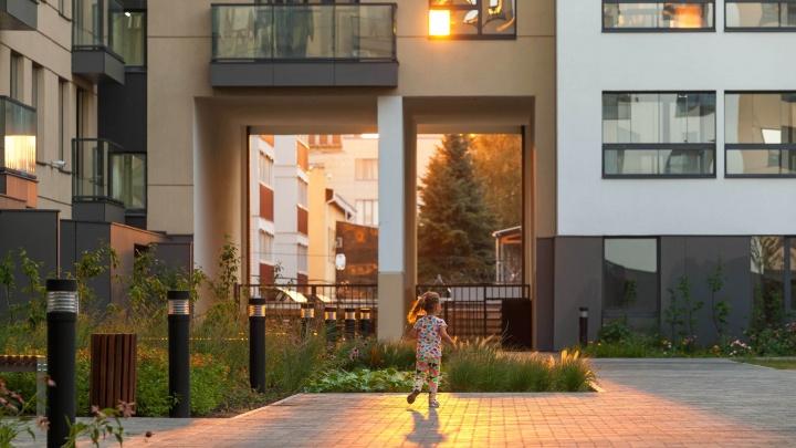 Дворы-парки, квартиры с террасами и окнами в потолке: как на Уктусе строят новый город