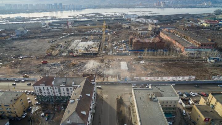 Комбайнового завода больше нет: как теперь выглядит участок с высоты птичьего полета