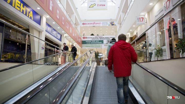 Прокуратура нашла грубые нарушения в работе эскалаторов крупного торгового центра Ярославля