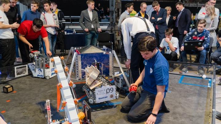 В Перми дети со всей страны собирают роботов. Фоторепортаж с открытия «Робофеста»