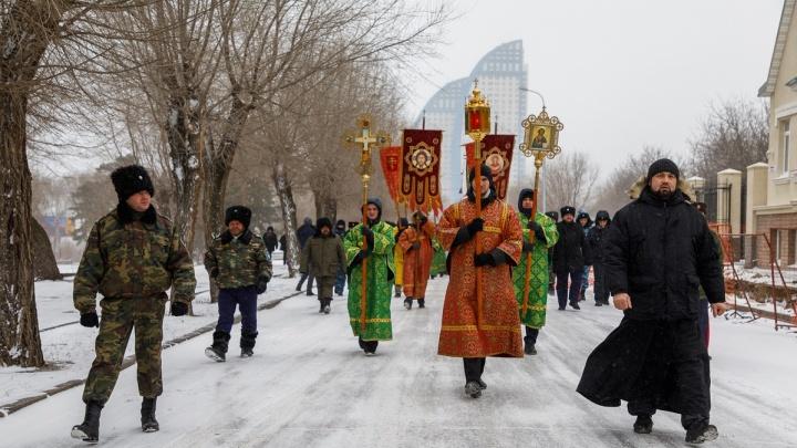 По просьбе мэрии: в Волгограде отменили крещенский крестный ход