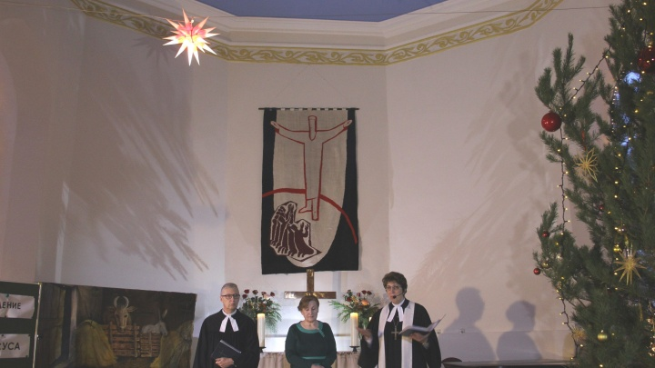 Самарцев приглашают на рождественские вечера в Кирхе