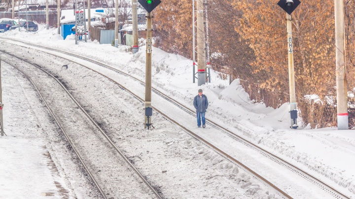 В Самаре поезд сбил глухонемого мужчину