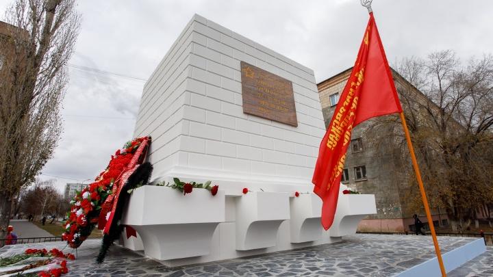 В Волгограде после ремонта открыли памятник на братской могиле защитников Сталинграда
