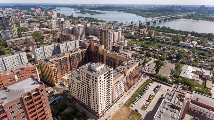 Компания «Сибакадемстрой» завершила строительство дома-квартала на ул. Декабристов