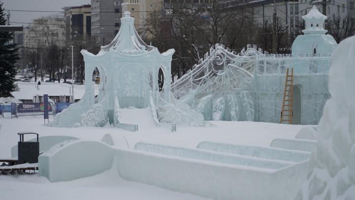 В Перми закрыли ледовый городок «Ветер с Востока». Его посетили 346 тысяч человек