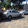 «Бампер в лепешку»: в Самаре на перекрестке столкнулись 4 автомобиля