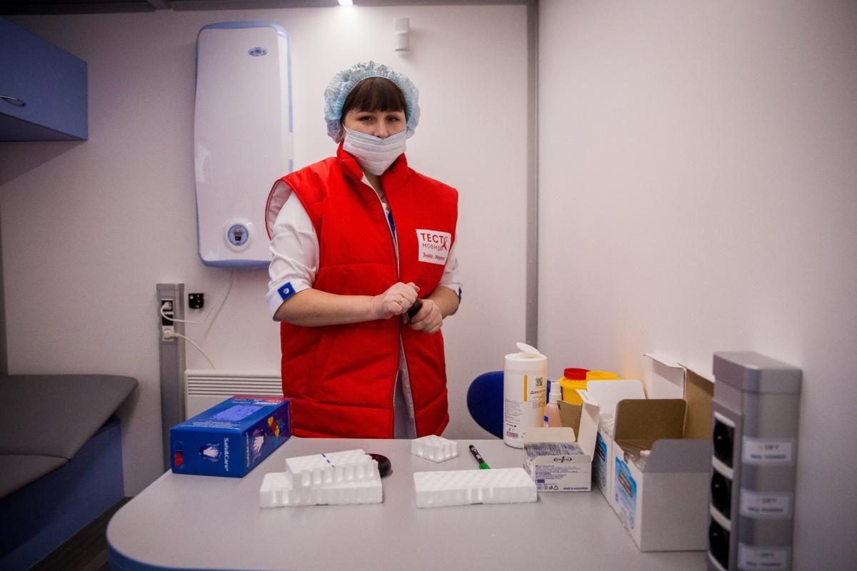 В машинах можно проверить себя на ВИЧ и гепатит С