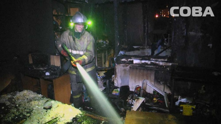 На Сиреневом бульваре в пожаре погибли трое маленьких детей