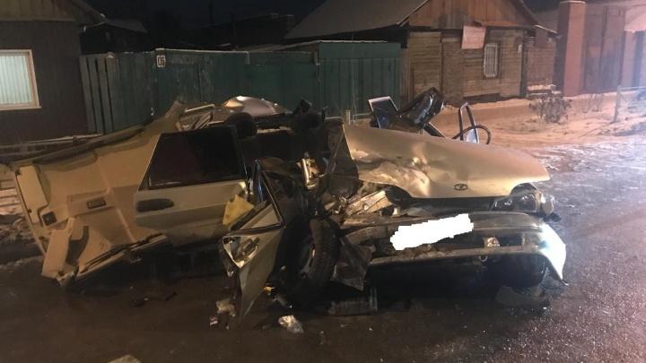 Виновник вчерашней аварии на 24-й Северной сел за руль без прав