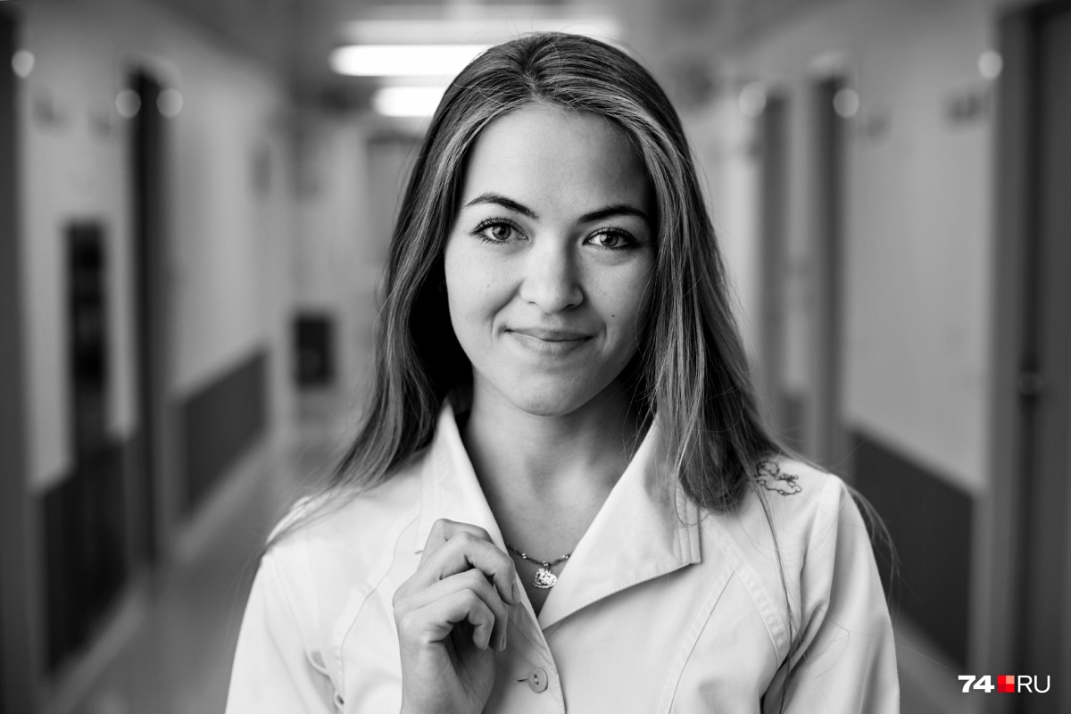 Медицинская сестра отделения анестезиологии и реаниматологии Лия Халезина