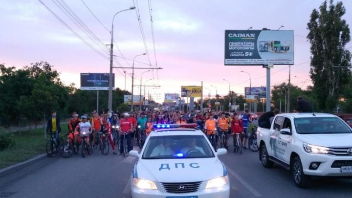 В Волгограде перекроют улицы трёх районов ради велопарада