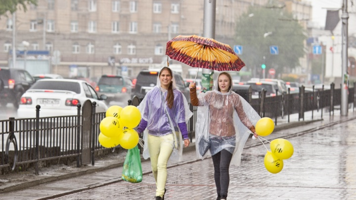 Из жары в холод: в Новосибирск в выходные придёт переменчивая погода