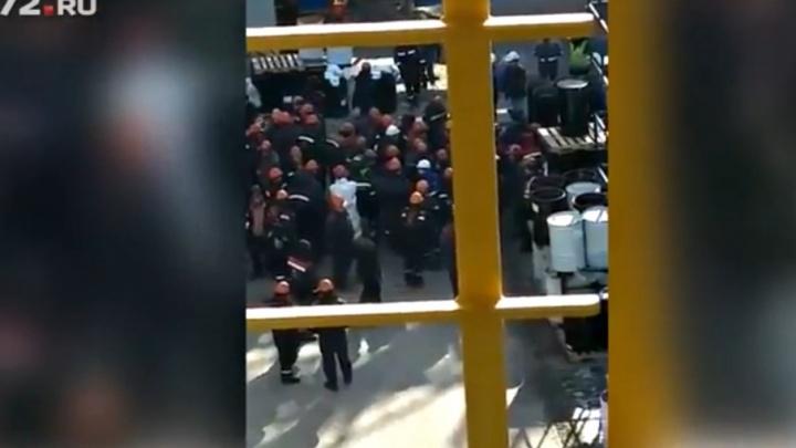 Тюменскую компанию «Техинжстрой», рабочие которой бунтовали против задержки зарплат, оштрафовали