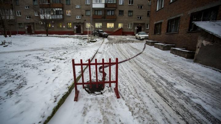 Десятки домов в двух районах остались без тепла и горячей воды