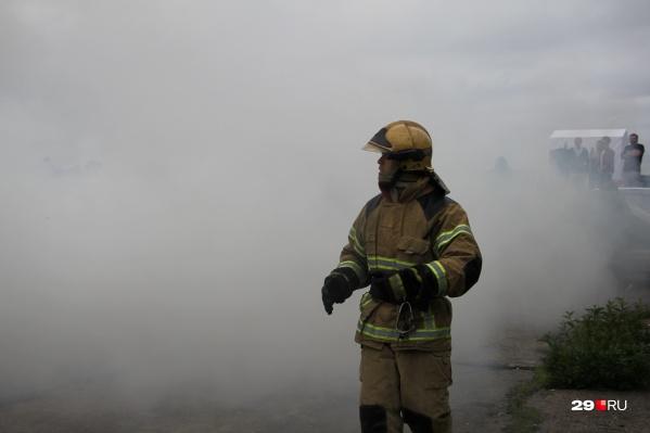 Когда пожарные прибыли на место, мужчина уже был без сознания