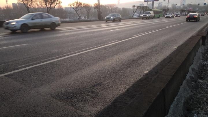С сегодняшнего дня в Красноярске отменяется часть выделенных полос