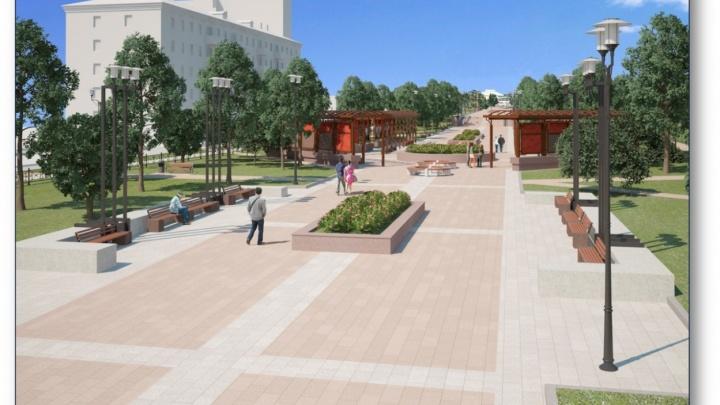 Бульвар Победы будут реконструировать до конца года