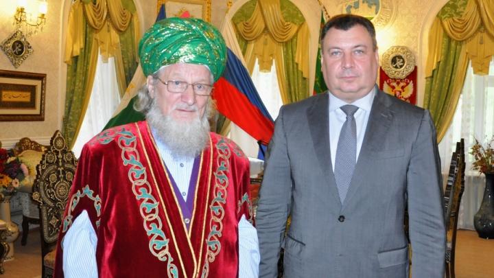 Талгат Таджуддин встретился с министром внутренних дел РБ