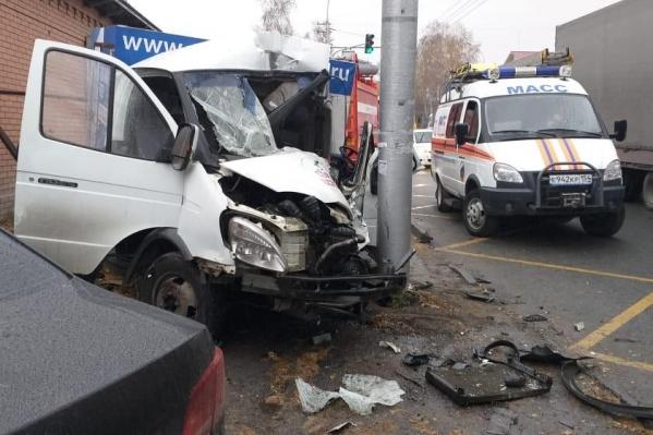 В ДТП погиб 25-летний водитель «Газели»