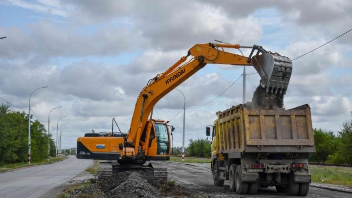 В Ростовской области начали ремонтировать дорогу к Волгодонской АЭС