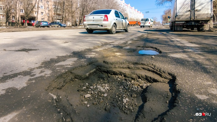 В Самаре отремонтируют улицы Мичурина и Гагарина