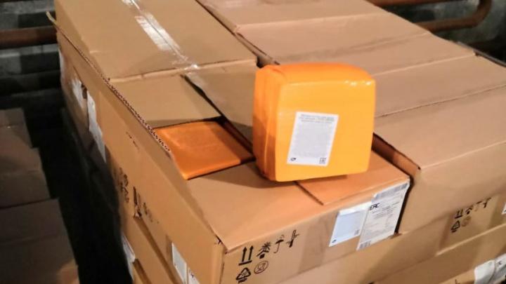 Головки не прошли: на Южном Урале уничтожили тонну украинского сыра