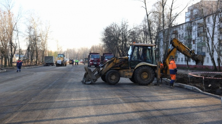 Мэр пообещал ещё раз: Тутаевское шоссе в Ярославле откроют 17 ноября