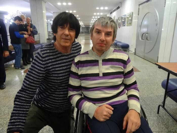 Павел с Дидье Маруани
