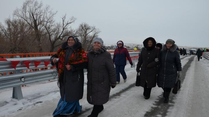 В Башкирии построили новый мост за 25 миллионов рублей