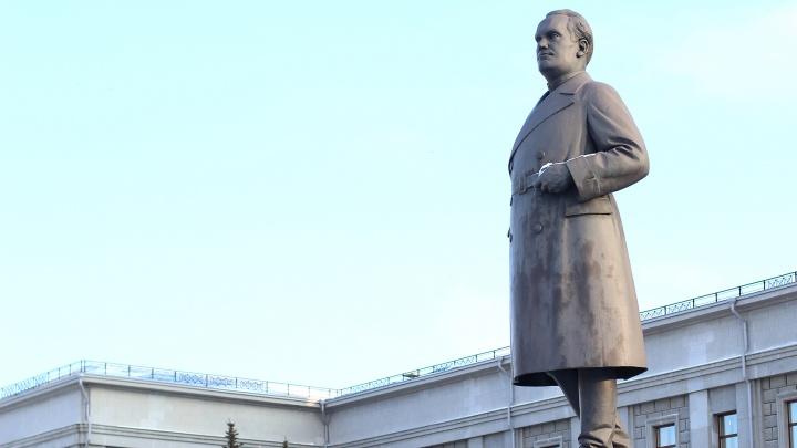 Памятник Куйбышеву в Самаре закроют на реставрацию
